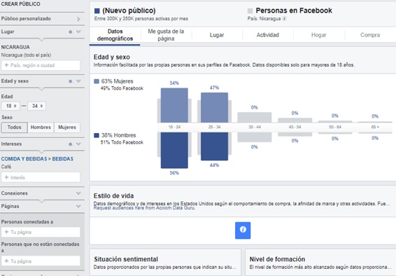 facebook audience insights ads